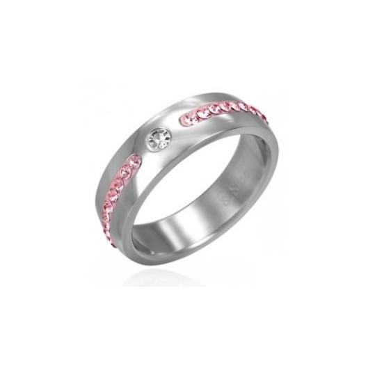 Prsten s krystaly Swarovski Elements LSAL023