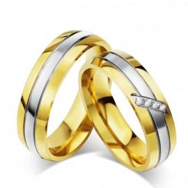 Snubní prsteny chirurgická ocel OKRM4041