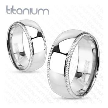Snubní prsteny titan HKTT1012