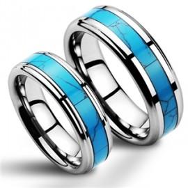 Snubní prsteny wolfram HKNWF1055
