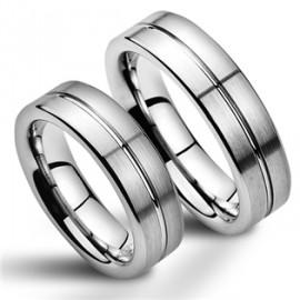 Snubní prsteny wolfram HKNWF1054