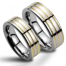 Snubní prsteny wolfram HKNWF1052