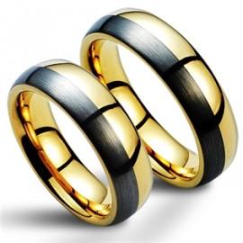 Snubní prsteny wolfram HKNWF1045