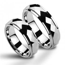 Snubní prsteny wolfram HKNWF1036