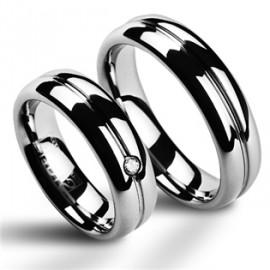 Snubní prsteny wolfram HKNWF1029z