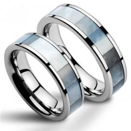 Snubní prsteny wolfram HKNWF1028