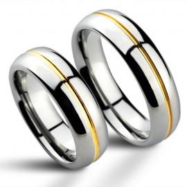 Snubní prsteny wolfram HKNWF1027