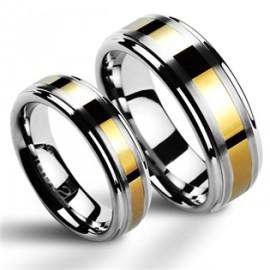 Snubní prsteny wolfram HKNWF1024