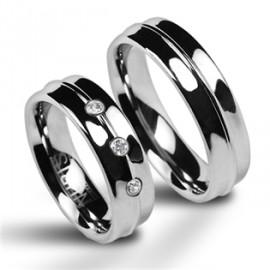 Snubní prsteny wolfram HKNWF1023z