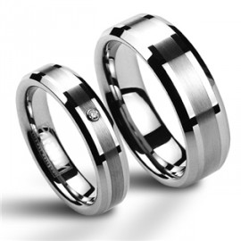 Snubní prsteny wolfram HKNWF1014z