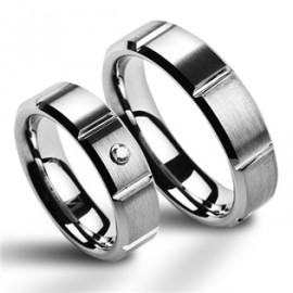 Snubní prsteny wolfram HKNWF1012z