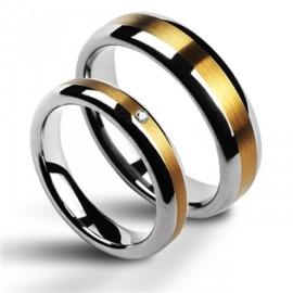 Snubní prsteny wolfram HKNWF1011z