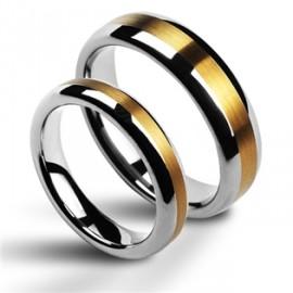 Snubní prsteny wolfram HKNWF1011