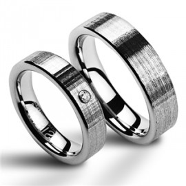 Snubní prsteny wolfram HKNWF1009z