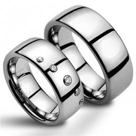 Snubní prsteny wolfram HKNWF1007z