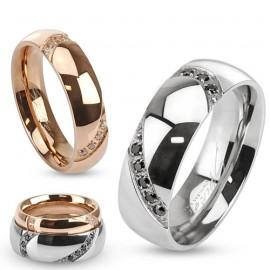 Snubní prsteny chirurgická ocel HK1024