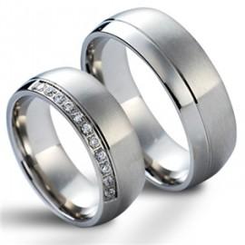 Snubní prsteny chirurgická ocel HKNSS1005c