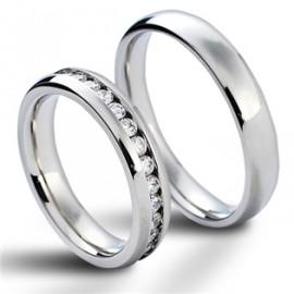 Snubní prsteny chirurgická ocel HKNSS100411