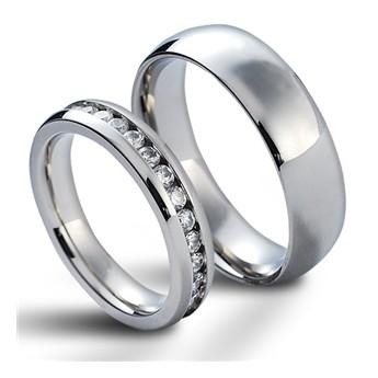 Snubní prsteny chirurgická ocel HKNSS10041