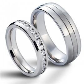 Snubní prsteny chirurgická ocel HKNSS1004