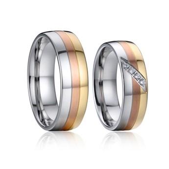 Snubní prsteny chirurgická ocel AE027