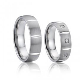 Snubní prsteny chirurgická ocel AE026