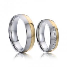Snubní prsteny chirurgická ocel AE023