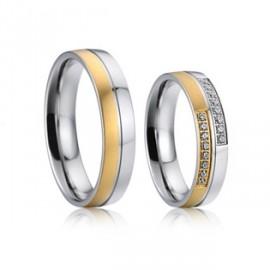 Snubní prsteny chirurgická ocel AE022