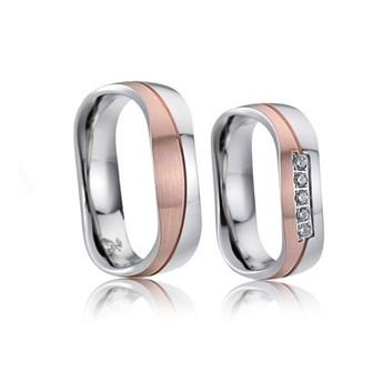 Snubní prsteny chirurgická ocel AE021