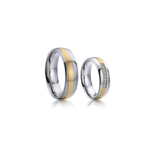Snubní prsteny chirurgická ocel AE020