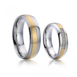 Snubní prsteny wolfram HKNWF1033