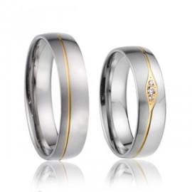 Snubní prsteny chirurgická ocel AE019