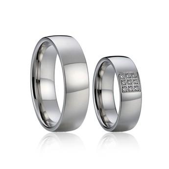 Snubní prsteny chirurgická ocel AE016