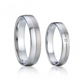 Snubní prsteny chirurgická ocel AE008b