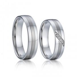 Snubní prsteny chirurgická ocel AE004b