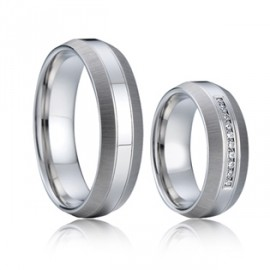 Snubní prsteny chirurgická ocel AE002