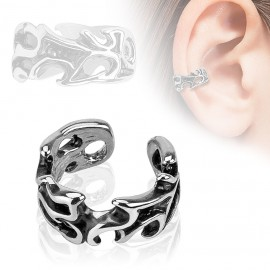 Falešný piercing do ucha - klips s ornamenty 2fce2ba8629