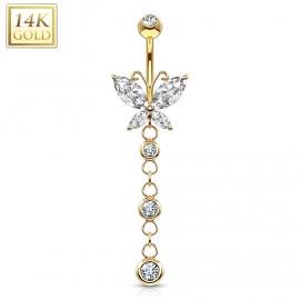 Stříbrný náhrdelník - řetízek s kuličkou