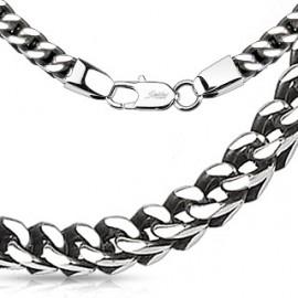 Pánský ocelový řetěz, tl. 5 mm, délka 60 cm