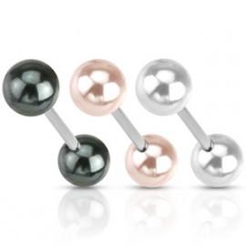 Piercing do jazyku - perličky