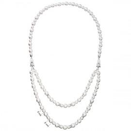 Perlový náhrdelník bílý 32040.1