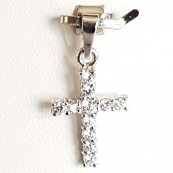 Stříbrný přívěšek křížek