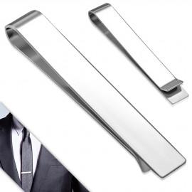 Spona na kravatu z chirurgické oceli - lesklá