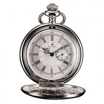 Stříbrné  kapesní hodinky v dárkovém balení
