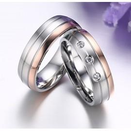 Snubní prsteny chirurgická ocel ALCR110