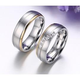 Snubní prsteny chirurgická ocel ALCR111