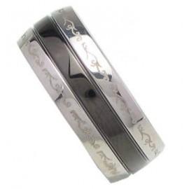 Prsten chirurgická ocel RSSLB19