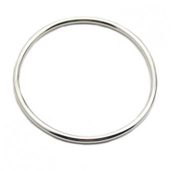 Ocelový náramek kruh tl. 3 mm