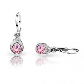 Cutie Jewellery Dětské naušnice Cutie C1898-B Pink
