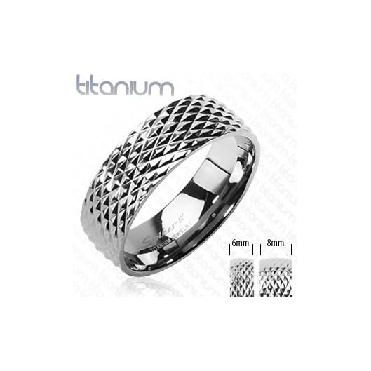 Titanové snubní prsteny 1 pár HWRTI3500